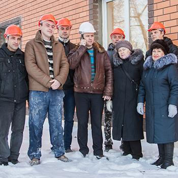 Часть команды Русстрой в конце 2016 года
