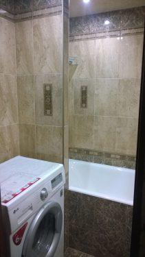 Отделка ванной комнаты плиткой 'под ключ'. Русстрой г. Калуга