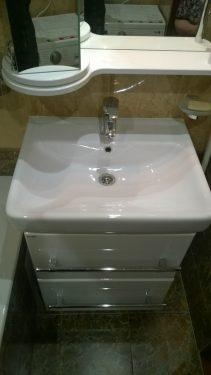 Новая мебель в ванной