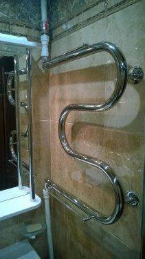 Подключение сушилки к горячей воде