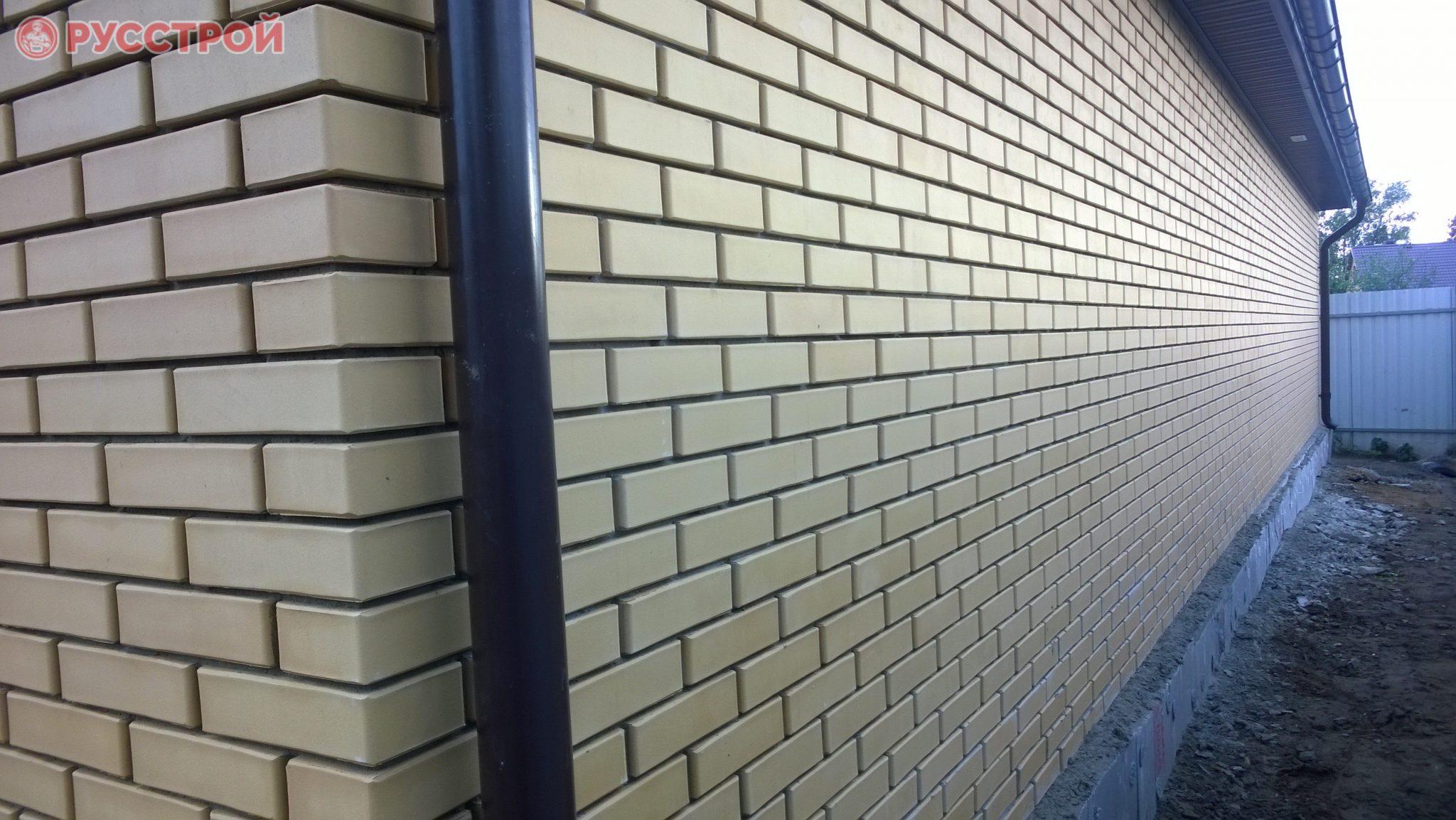 Строительство коттеджей из кирпича. Русстрой г. Калуга