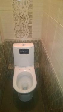 Ремонт туалета под ключ. Русстрой г. Калуга