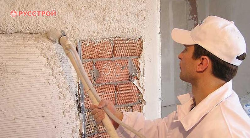 Минеральные пастовые составы для отделки фасадов