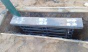 Установка закладных, подготовка к заливке бетона