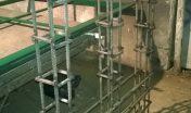 Сварка каркаса закладных для бетонного основания