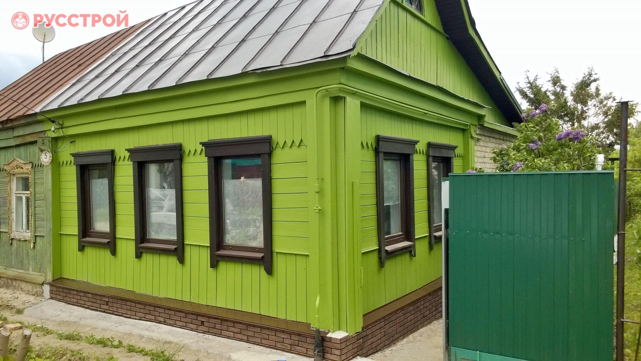 покраска фасада специальной резиновой краской