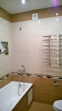 Законченный вид ванной команты