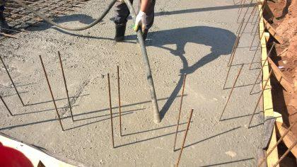 По колено в бетоне